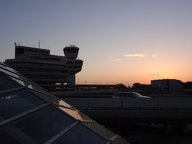 airport sunrise
