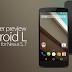 Download & Install Android L Developer Preview 2 (LPV81C) On Nexus 5 & Nexus 7 - Tutorial