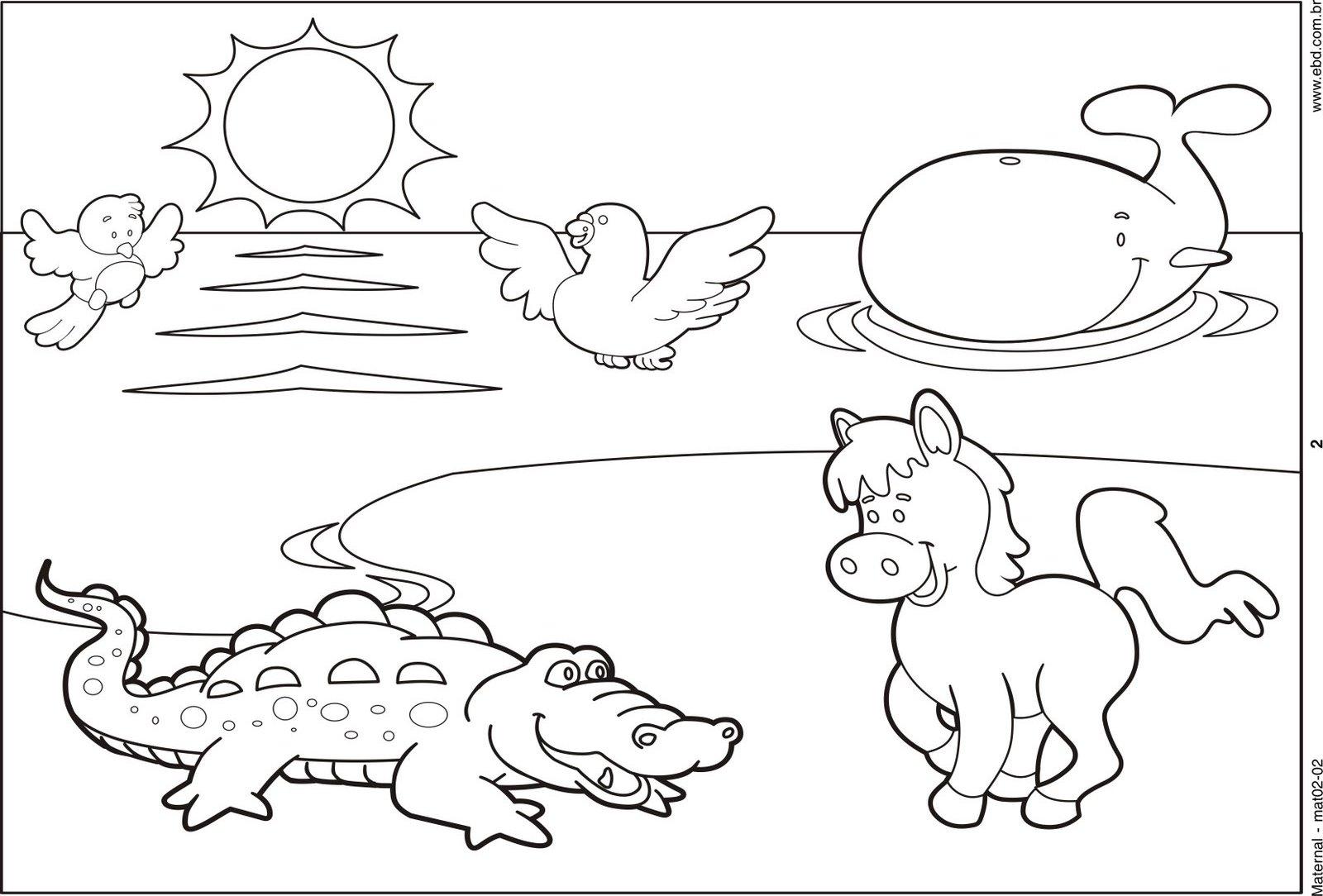 Bonito Creación Para Colorear Páginas Día 5 Motivo - Dibujos Para ...