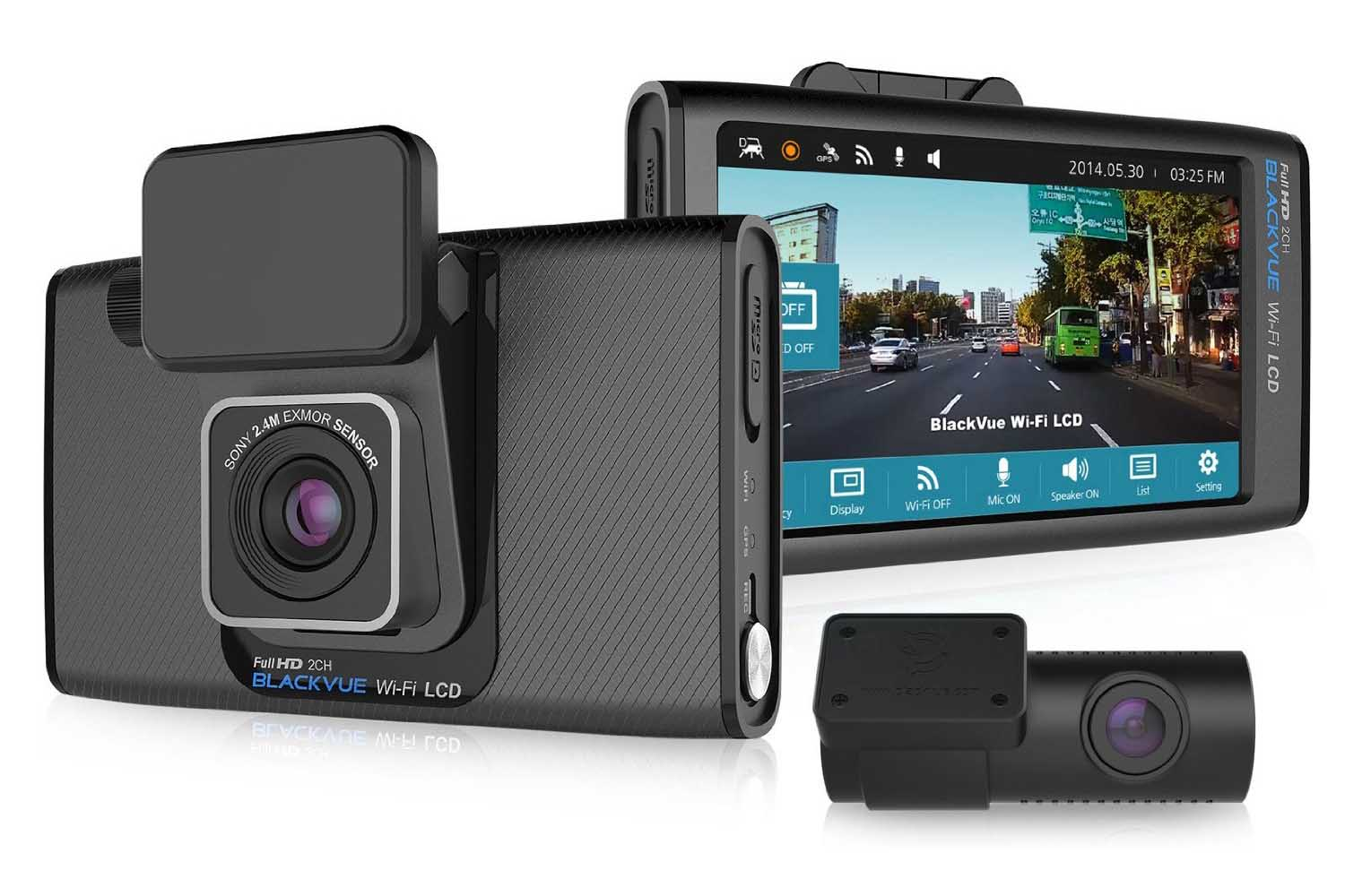 DR650S-2CH Two Channel 32GB Dash Camera by BlackVue
