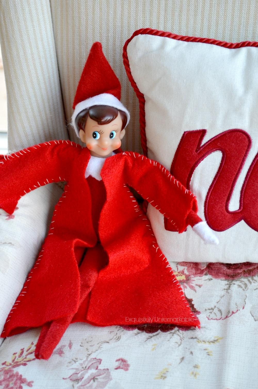 Elf On The Shelf Coat