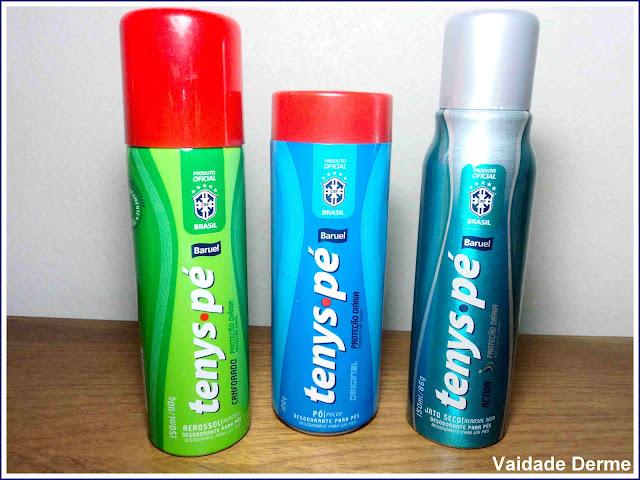 Chulé, desodorante para os pés, odor nos pés