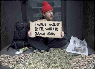 Homeless scams