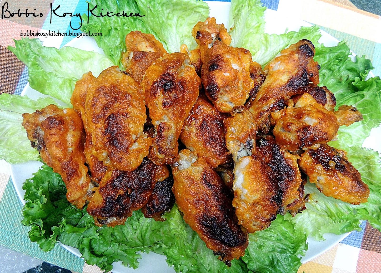 Sriracha Hot Wings | Bobbi's Kozy Kitchen