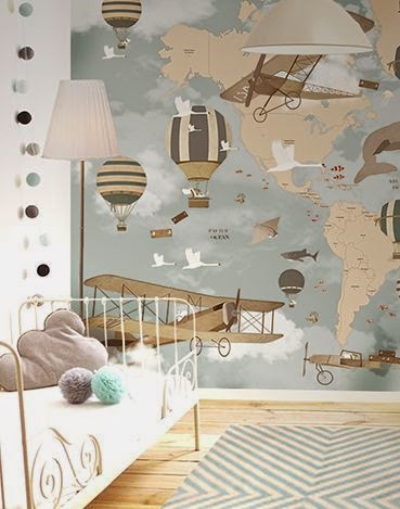 nursery wall design