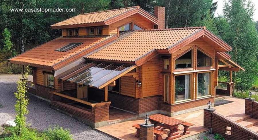 Casa de madera moderna en España