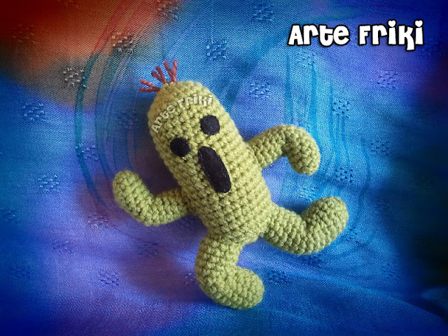 cactilio cactuar amigurumi crochet ganchillo final fantasy game friki