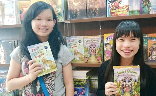 Penerbitan buku Indonesia Di Amazon - Jessica dan Jennifer Tan