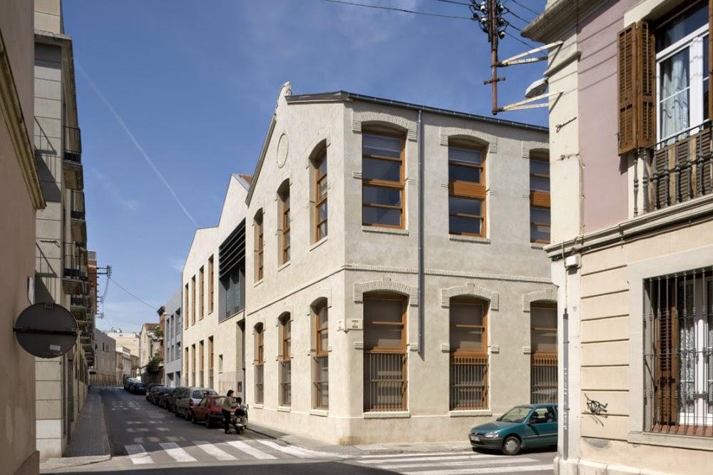 Patrimonio industrial arquitect nico antigua f brica - Arquitectos sabadell ...