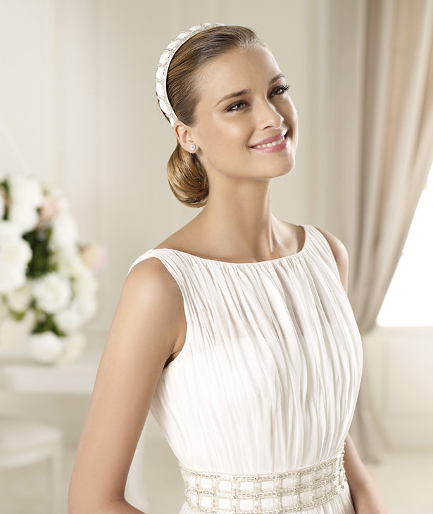 Un adelanto de lo que serán los vestidos de novia 2013 de pronovias