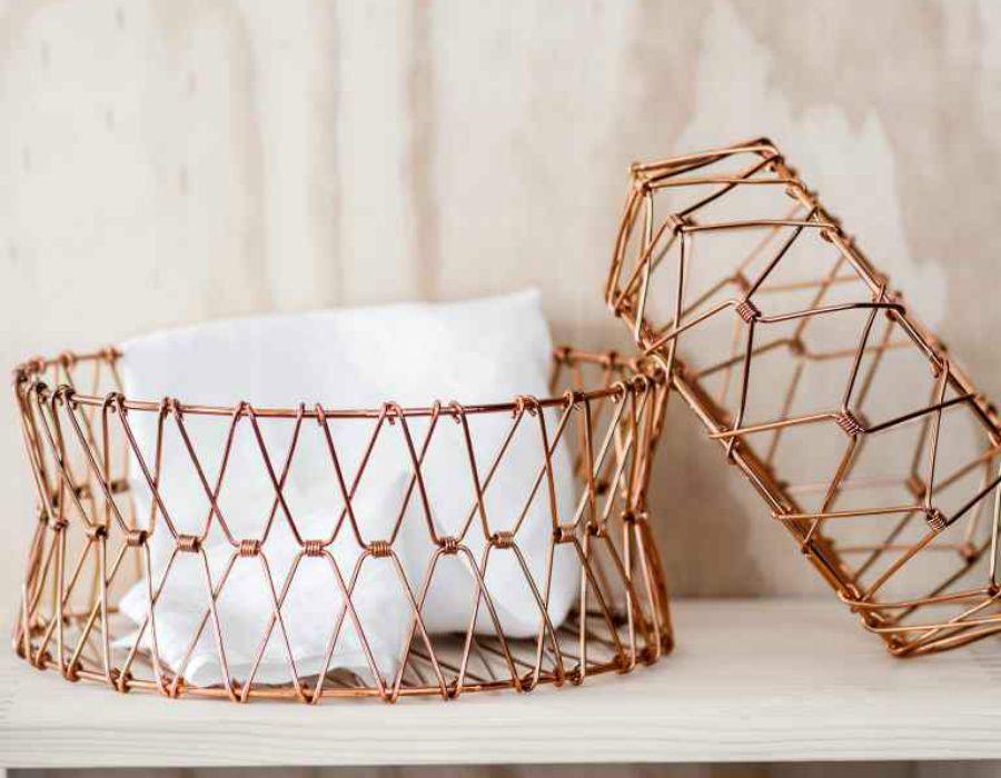 Decoraci n f cil m rmol y cobre imprescindibles en la for Objetos hechos con marmol
