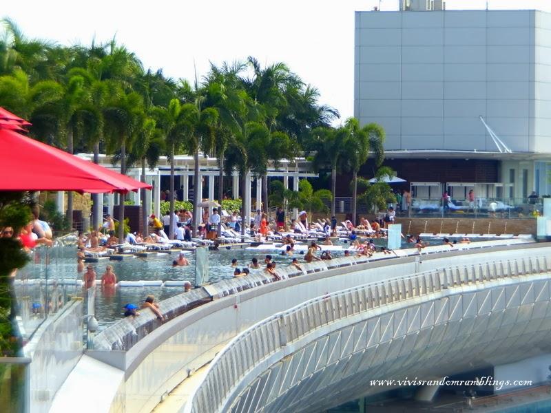 marina bay infinity pool,Sands SkyPark Observation Deck Marina bay sands