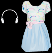 Stardoll Free Violetta White Headphones and Dress Items Cheat