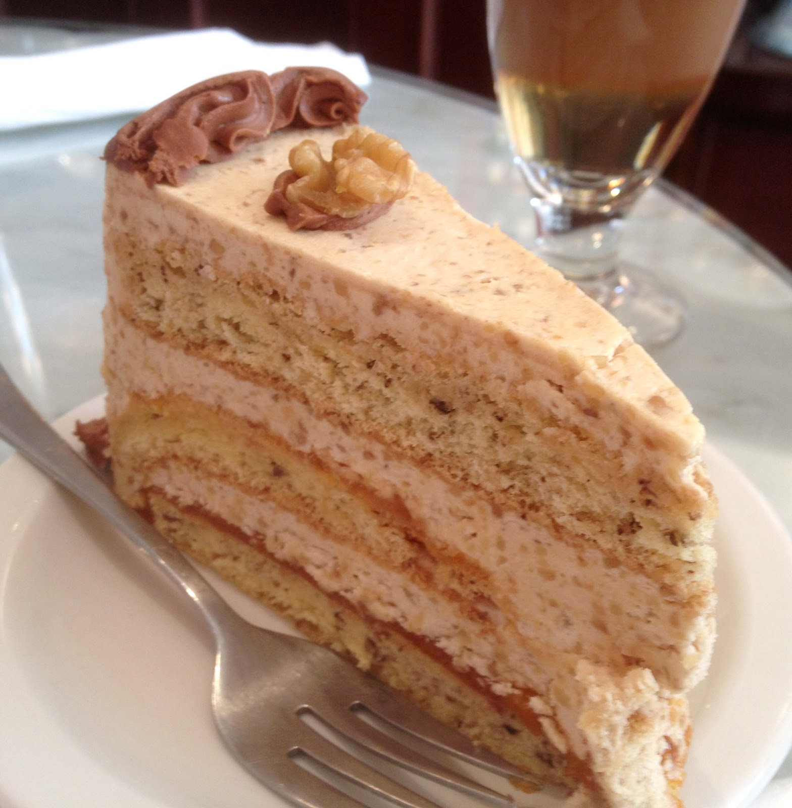 Coffee And Walnut Cake Recipe With Oil