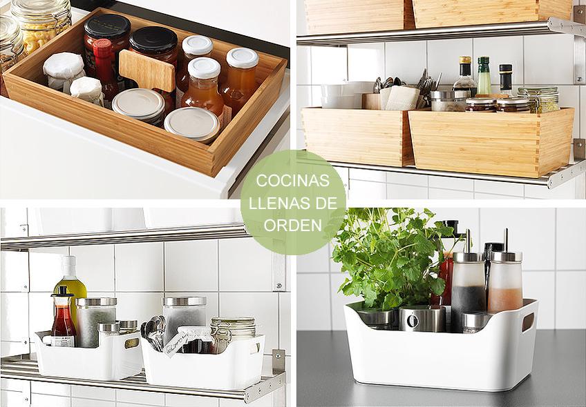 Ideas de decoraci n cocinas ordenadas meu canto blog - Orden en la cocina ...