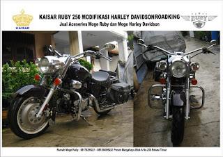 HASIL MODIFIKASI MOTOR KAISAR RUBY 250 CC 150 CC
