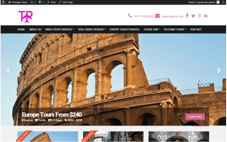 PHP Travel Script