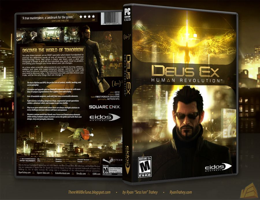 deus ex-human revolution only by the rain full game free ...
