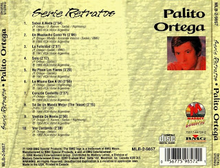 PALITO ORTEGA - DISCOGRAFIA 020063688