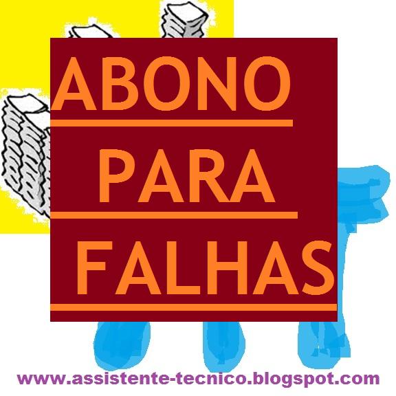 ABONO PARA FALHAS