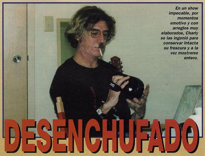 CHARLY GARCIA, ESTADOS UNIDOS