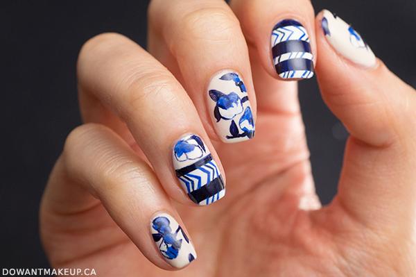 NYFW nail art: Oscar de la Renta Fall 2015 RTW