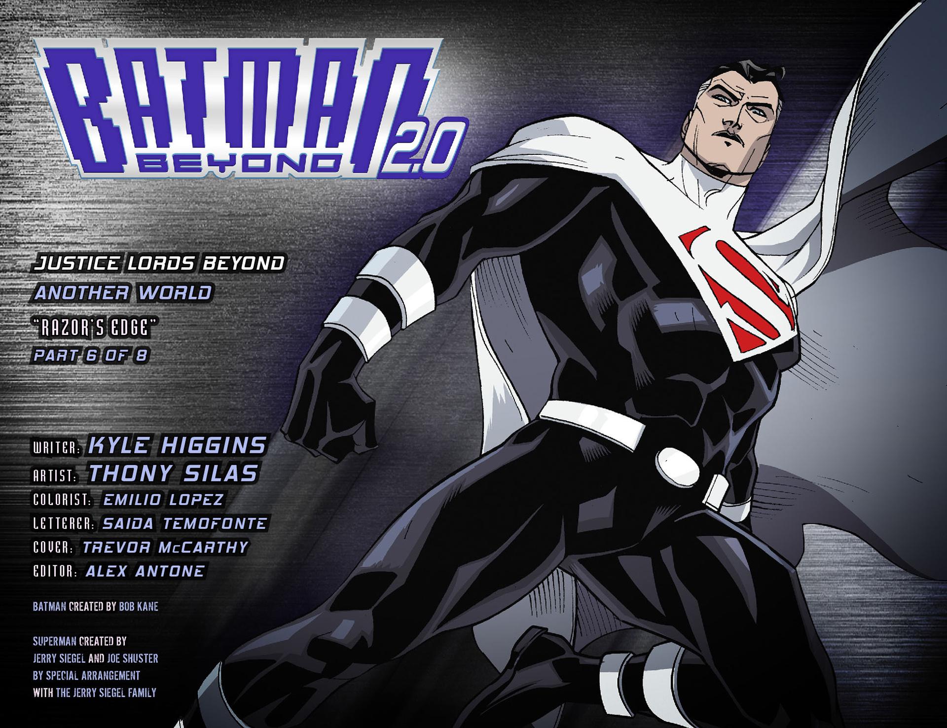 Batman Beyond 2.0 Issue #22 #22 - English 2