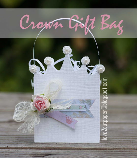 princess, crown gift bag, ilove2cutpaper, LD, Lettering Delights, Pazzles, Pazzles Inspiration, Pazzles Inspiration Vue, Inspiration Vue, Print and Cut, svg, cutting files, templates,
