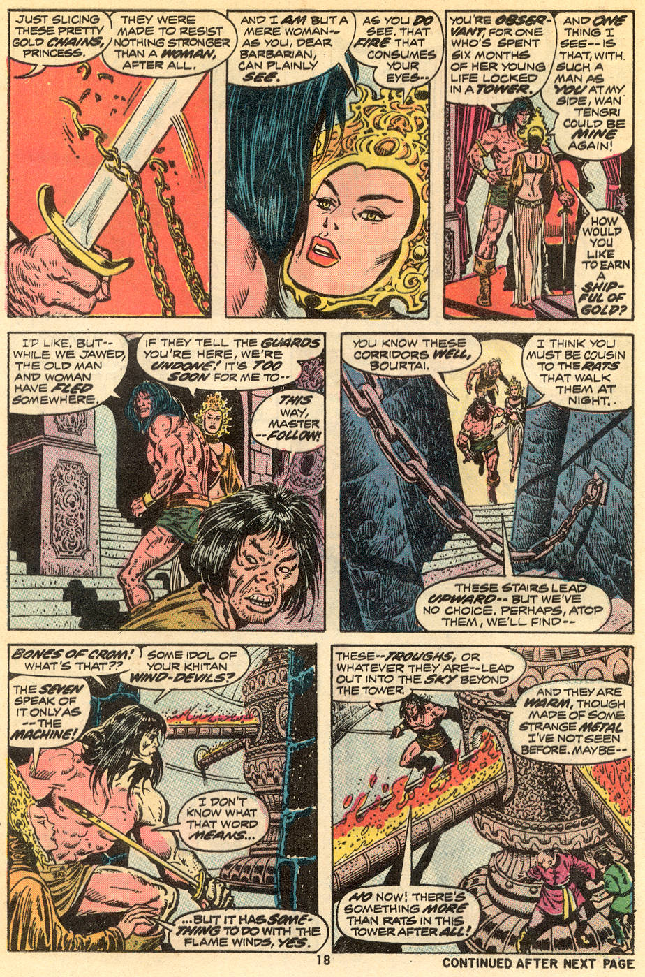 Conan the Barbarian (1970) Issue #34 #46 - English 13