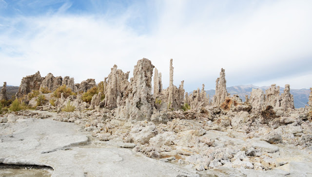 Tufas - Mono Lake, Californie, USA