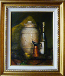 Paintings - Urn