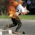 Anciano se suicida prendiéndose fuego