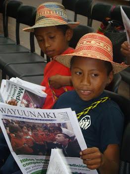 WAYUUNAIKI, periódico en la escuela