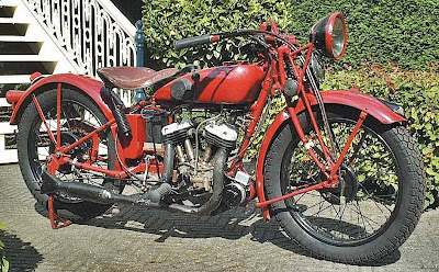 22. 1932 indian scout pony