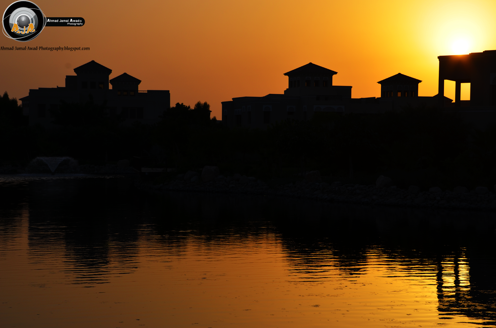 Sunset in Al-Barari