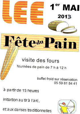 Fête du Pain 2013 à LEE