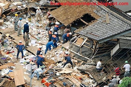 wallpaper japan tsunami. Damages in japan today 2011