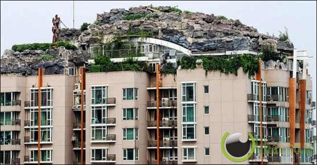 Bikin villa di atas apartemen 26 lantai