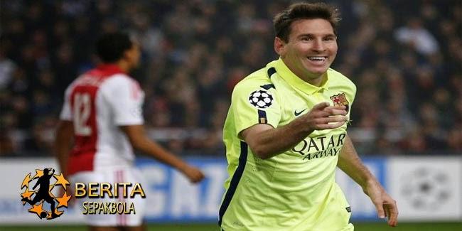 Komentar Messi soal Lawan Manchester City