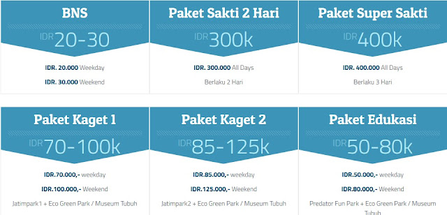 Daftar Harga Tiket Masuk Jawa Timur Park Group 2