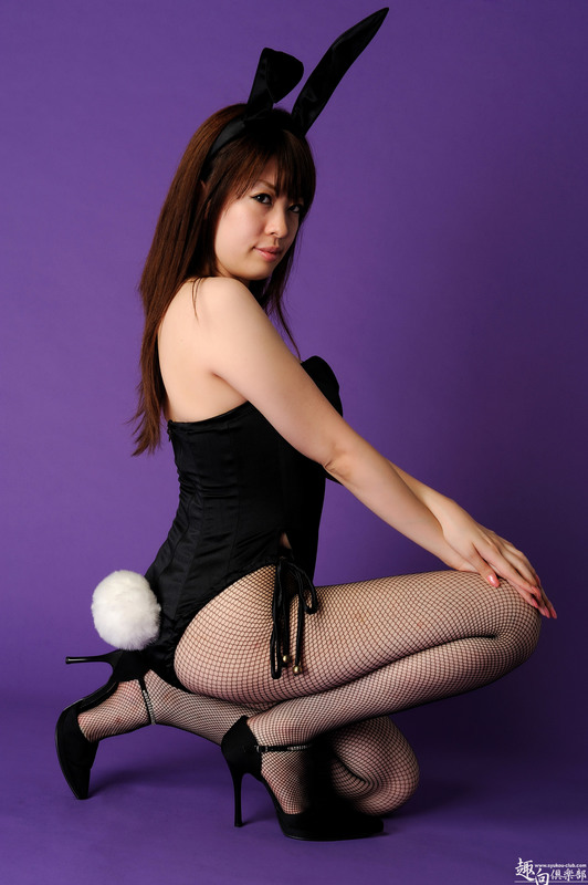 Seems impossible. Japanese cosplay bunny sex