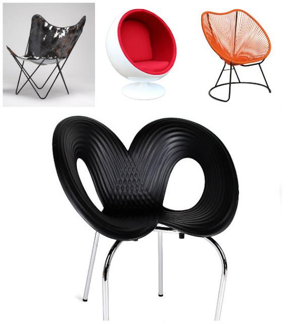 Sillas Iconos del Diseño en Superestudio.com