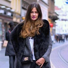 Zrinka Barkiđija,street style, women's fall stylish fashion