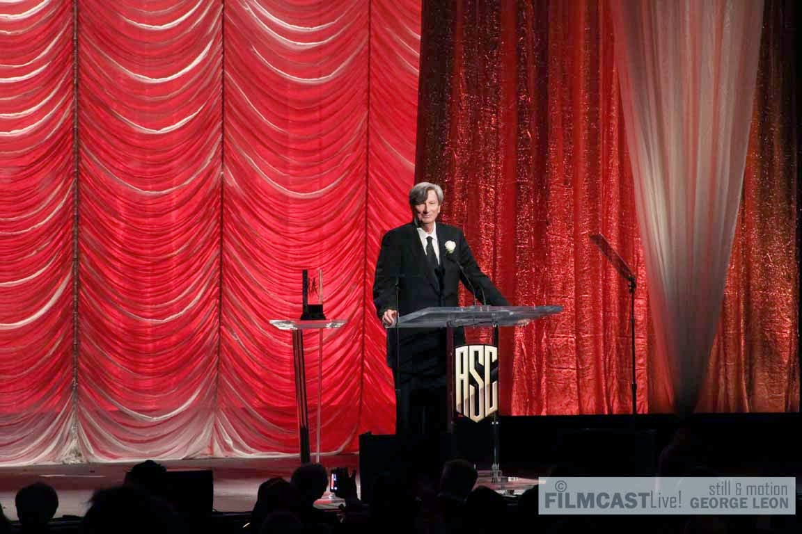 John Bailey ASC Lifetime Achievement Award  ©george leon/filmcastlive