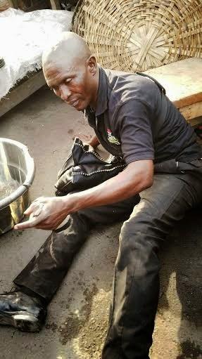nigerian police drunk lagos