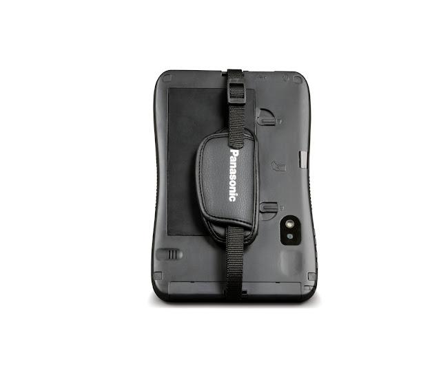 Sujetador de tablet android Panasonic ToughPad B1, resistente a todo