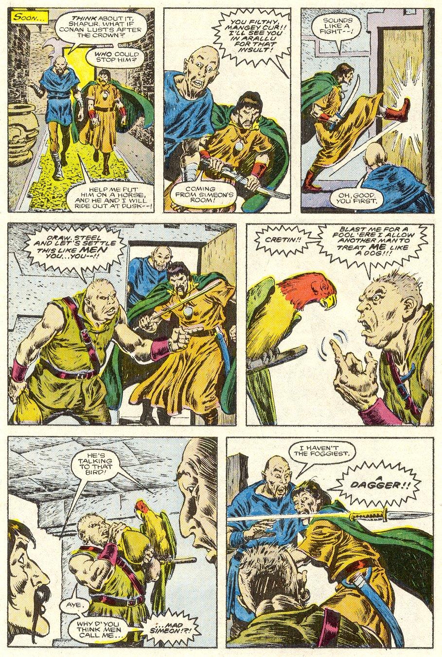 Conan the Barbarian (1970) Issue #187 #199 - English 11