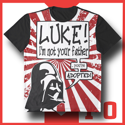 camiseta+t-shirt+graphic+grafica+orginal+pop art+cool+star+wars+darth+vader+luke+buy+comprar+online+world