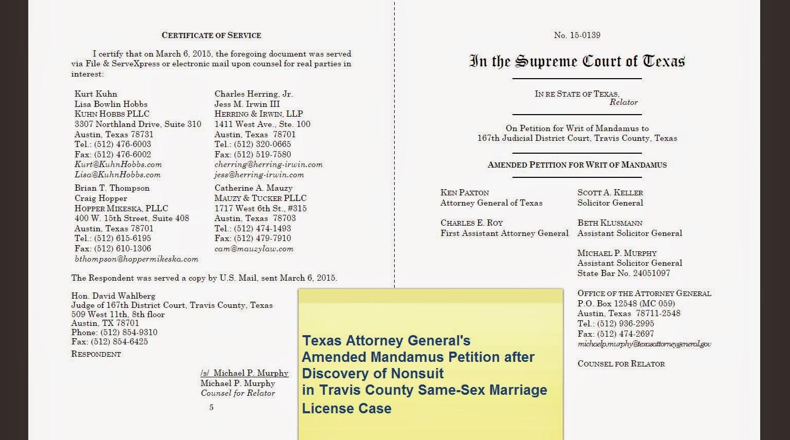 Tex.App.: Texas Attorney General Ken Paxton v. Judges David ...