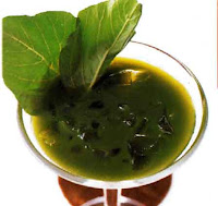 น้ำสมุนไพร น้ำผักโขม แครอท กับแตงกวา
